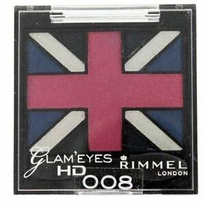 Rimmel Glam'Eyes HD Quad Eye Shadow - True Union Jack 008