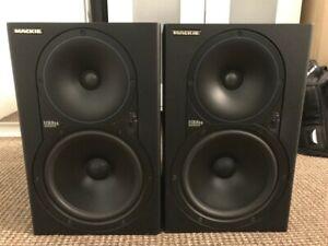 Mackie HR824 MKI - pair, studio monitors, original model!