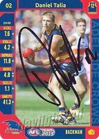 ✺Signed✺ 2015 ADELAIDE CROWS AFL Card DANIEL TALIA