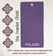 RAL 4005 49/42780 Blue Lilac Powder Coating Paint 1lb Bag NEW