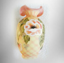 Fenton limited edition diamond optic vase with original box - FREE SHIPPING