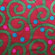 "100% cotton printed slub broad fabric, 44""width sold per yard, Japanese print"