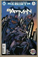 Batman #2-2016 nm- 9.2 Rebirth Tom King Standard Cover