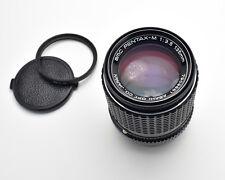 Pentax SMC Pentax-M f/3.5 135mm Telephoto Prime Lens Caps & Filter Read (#3436)