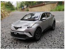 1/18 TOYOTA IZOA model car silver-gray color + gift