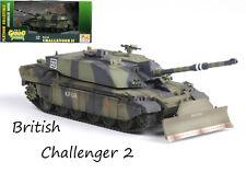 British MBT FV4034 Challenger 2 dozer blade Kosovo 1999 tank 1:72 Easy Model