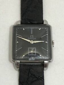 OMEGA VINTAGE REF.3798/1 CAL.R17.8 CASO STEEL  DIAL RETOUCHED  GOOD CONDITION