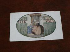 ORIGINAL RIE CRAMER SIGNED ART DECO GLAMOUR POSTCARD - MAMAN,W.DE HAAN.