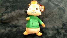 Ty Beanie Baby ~ THEODORE (6.5 Inch)(Chipmunk from Alvin and the Chipmunks) MWMT