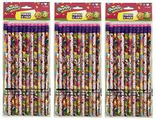 Shopkins Pencils School stationary Supplies 36pc