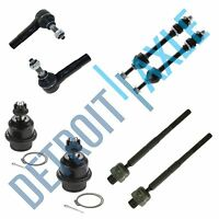 2 x Sway Bar Link Kit For 2007-2010 Saturn Outlook Suspension 4 x Tie Rod End