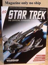 Star Trek nave espacial colección revista #13 borg esfera-Eaglemoss alemán nuevo