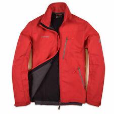 Mammut Herren Jacke Jacket Gr.S Softech Softshell Peludo Rot, 68364