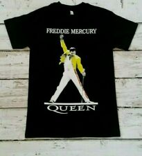 NEW - FREDDIE  MERCURY- Yellow Jacket - QUEEN  - BAND  T-SHIRT
