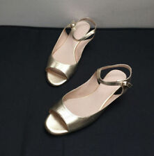 Witchery Flat (0 to 1/2 in.) Leather Heels for Women