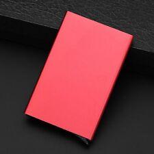 Women Men Wallet Aluminum Slim ID Credit Card RFID Protector Holder Purse Case