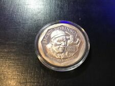 Jackie Robinson 1oz Silver Round Breaking Barriers 50th Anniversary 1947-1997