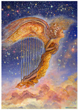 "Jigsaw Puzzles 1000 Pieces ""Harp Angel""/ Josephine Wall / Grafika"