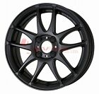 WORK Wheel EMOTION CR Ultimate Kiwami 15inch Matt Black (MBL) 5.0J 45 4Hx100
