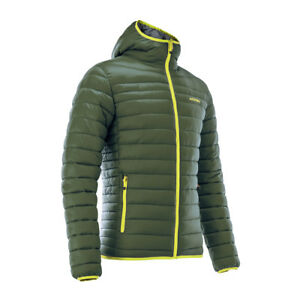 ACERBIS PEAK 73 REVERSIBLE JACKET GREEN CASUAL PADDED QUILTED NEW MX CHEAP WARM