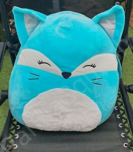 """SQUISHMALLOW 16"""" LARGE PILLOW PET SOFT TOY XMAS GIFT PANIA CAT FURRY BELLY"""