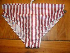 Aussiebum vintage stripes RUDY nylon mens swim brief med enhancing authentic