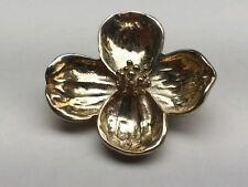 TIFFANY & CO. DOGWOOD FLOWER PIN/ BROOCH, MEDIUM. .925 (19004042)
