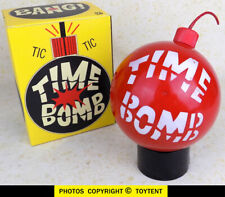 Milton Bradley Time Bomb game ... RED version in working condition!