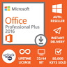 Microsoft Office 2016 Professional Plus 32/64 Key and download INSTANT DELIVERY✅