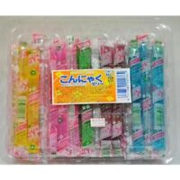 Konnyaku jelly stick 50 pieces set Japanese Dagashi Snacks For gift Japan