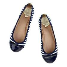 Butterfly Striped Textile Flats for Women