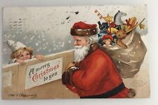 Ellen Clapsaddle Christmas Postcard 1908