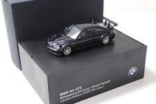 1:43 Minichamps BMW M3 GTR E46 Street black DEALER NEW bei PREMIUM-MODELCARS