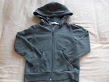 H&M Kids Unisex Grey Hooded Long Sleeve Jacket Size 4-6 Years