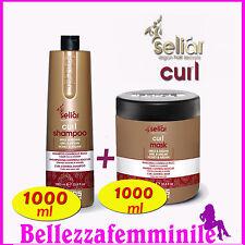 Kit capelli Curl - Shampoo 1000 ml + Maschera 1000 ml Echosline