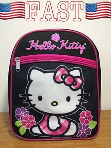 Hello Kitty Flowers & Gingham Mini Backpack, One Size - NEW WITH TAGS!!!