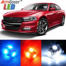 19 x Premium Xenon White LED Lights Interior Package Upgrade for Dodge Charger