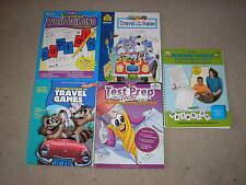 Lot of 5 Grade 3 Workbook Lot Word Building Test Prep Making Words Travel Games