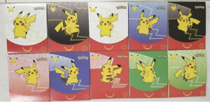 Pokemon 25th Anniversary McDonalds 2021 Promo Sealed Pack lot of (10) In Hand!
