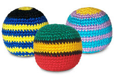 Sipa Sipa original crocheted knitted footbag hacky sack - Pack of THREE