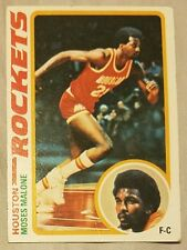 1978 Topps Moses Malone #38 Basketball Card