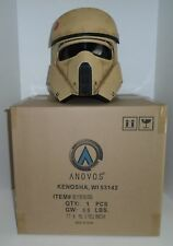 "STAR WARS ""SHORETROOPER"" Helmet Rogue One Anovos 1:1 scale NEW in factory box"