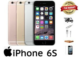 iPhone 6S 16GB/32GB/64GB/128GB - Gold/Rose/Silver/Grey - 12 MONTH WARRANTY