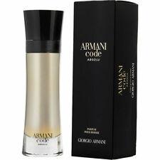 Armani Code Absolu Pour Homme Giorgio Armani 3.7 oz / 110 ml Parfum Spray Nib