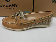 SPERRY TOP SIDER WOMENS BOAT SHOES FIREFISH LINEN OAT SIZE 9