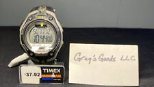 "Timex T5K412, Men's ""Ironman"" Resin 30-Lap Watch, Alarm, Chronograph, Indiglo"