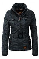 NEU Khujo Damen Winterjacke Damenjacke Jacket Outdoor Cotton Navy WOW - 20% Sale