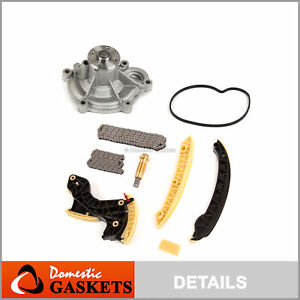 Timing Chain Kit Water Pump Fits 03-05 Mercedes-Benz C230 1.8 M271 Supercharged