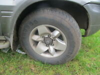 245/70R16 4x4 tyres off road summer tyres Full set of 4 6.5mm tread