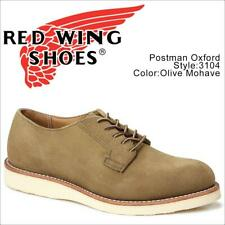 NIB RED WING Heritage Mens 8D Olive Mohave Suede Postman Oxford Shoe Firsts 3104